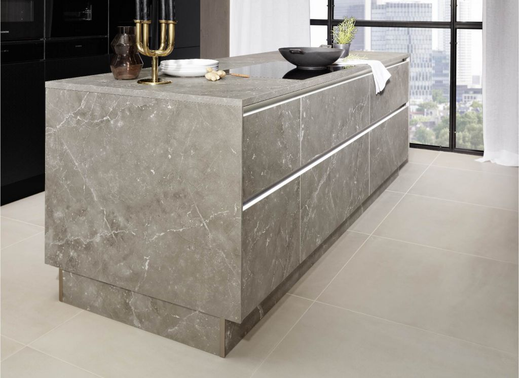 marbre dekton cuisine table